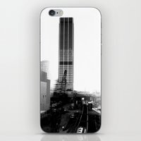 atlanta iPhone & iPod Skins featuring Rebirth Atlanta by Invert The World
