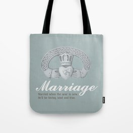 Marriage January Tote Bag