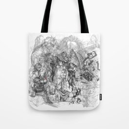 carré mystique Tote Bag