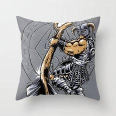 Take a knee to the Arrow ... Throw Pillow