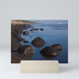 El Cocal beach Mini Art Print
