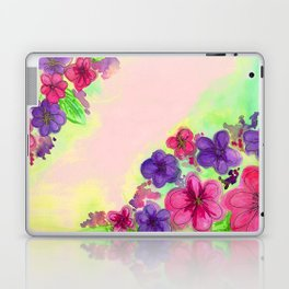 June flowers Laptop & iPad Skin