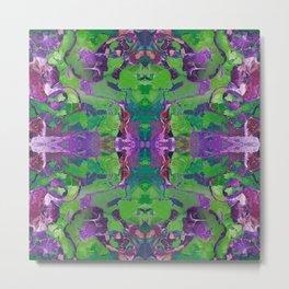 Mandala Kaleidoscope 540 Metal Print