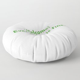 The Good Place - Welcome, Everything is fine.  Floor Pillow