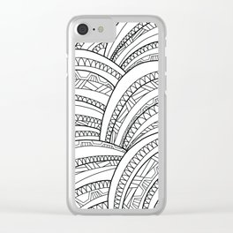 Mountains#1 Clear iPhone Case