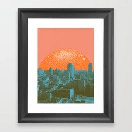 Metropolis Landing III Framed Art Print