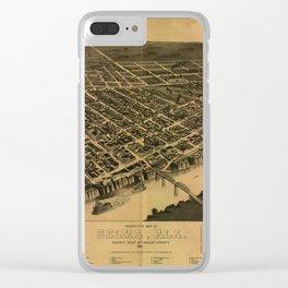 Selma, Alabama 1887 Clear iPhone Case