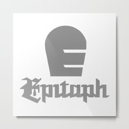 EPITAPH RECORDS new Metal Print