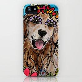 Golden Retriever Service Dog (Ryver) iPhone Case