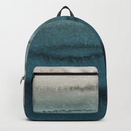 WITHIN THE TIDES - CRASHING WAVES TEAL Backpack