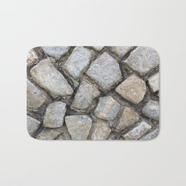 Cobbled Stones Bath Mat