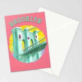 Happy Brooklyn Bridge Stationery Cards