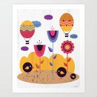 spring Art Prints featuring Spring by Kakel