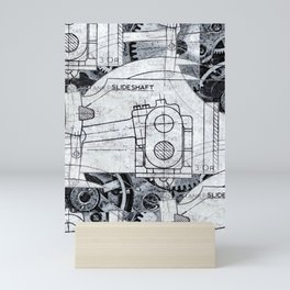 Slide Shaft Mini Art Print