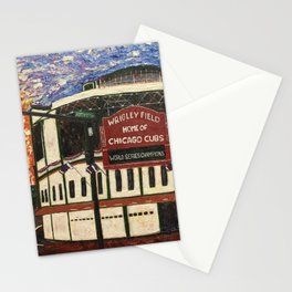 Cubs Win!! Stationery Cards