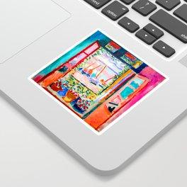 Henri Matisse Open Window Sticker