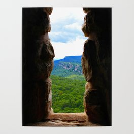 A Window to the Mohonk Reserve Poster