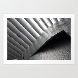 Contemporary architecture Art Print