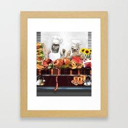 Sloths Framed Art Print