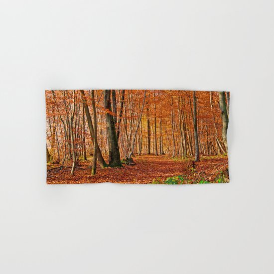 Autumn in the forest Hand & Bath Towel