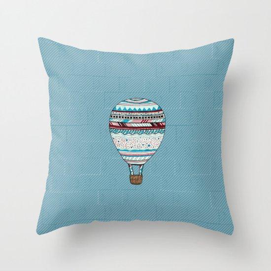 Candy Balloon Throw Pillow