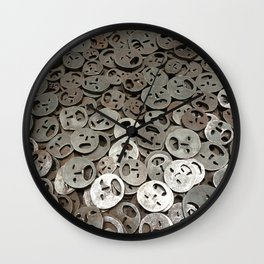 lost faces Wall Clock