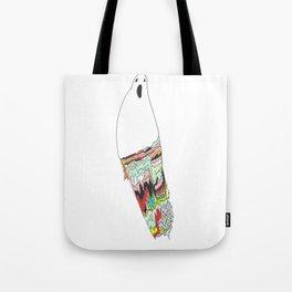 Fractal Phantom Tote Bag