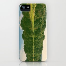 River Reflection iPhone Case