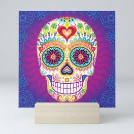 Sugar Skull Art (Luminesce) Mini Art Print