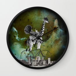 Phil loved cycling the city streets listening to his music Wall Clock