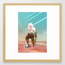 Ciri Framed Art Print