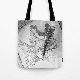 Pencil Alive Tote Bag