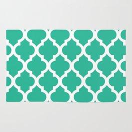 Moroccan Green Blue  Rug