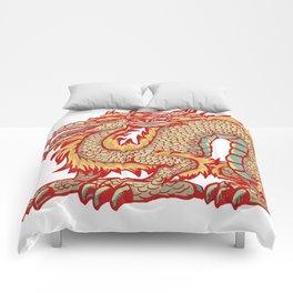 Old China Dragon Comforters
