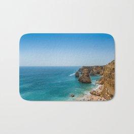 Beach at Lagoa, Algarve, Portugal Bath Mat