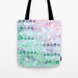 SUMMER MERMAID - CORAL MINT Tote Bag