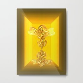 The gratitude plant Metal Print