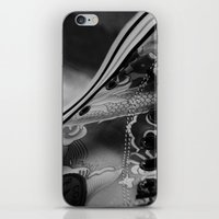 sneakers iPhone & iPod Skins featuring Sneakers by Lucas Brown