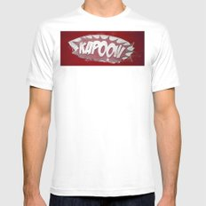 kapoow Mens Fitted Tee MEDIUM White