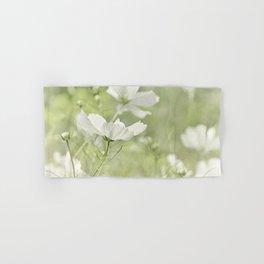 White Cosmos flower 0196 Hand & Bath Towel