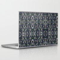 punk rock Laptop & iPad Skins featuring Punk Rock On A Mission by Ceil Diskin Studio