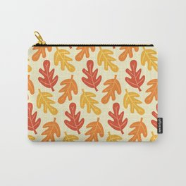 Fall Vibes Pattern Carry-All Pouch