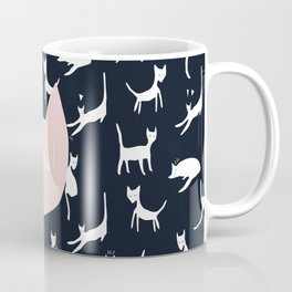 Blue Miaou ! Coffee Mug