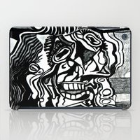 picasso iPad Cases featuring Basically Picasso by Marcela Caraballo