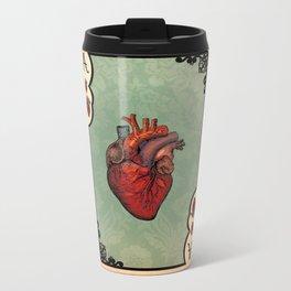 ace of hearts Metal Travel Mug