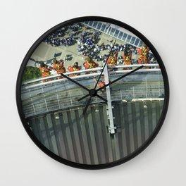 Thrill seekers Wall Clock