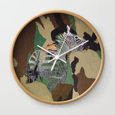 Big Cats Of War The Unlucky Wall Clock