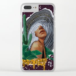 Pretty woman Clear iPhone Case