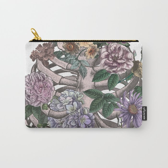flowering ribs Carry-All Pouch