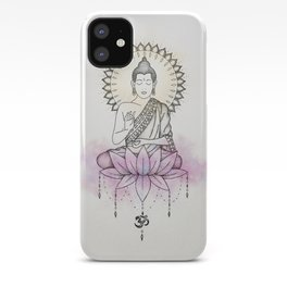 Lotus Buddha iPhone Case
